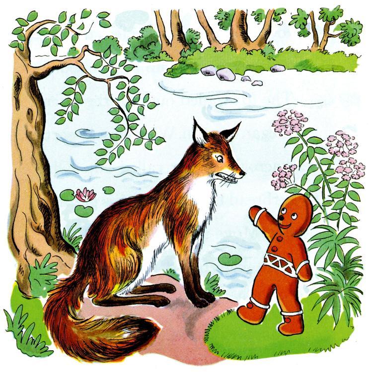Gingerbread Man Story Gingerbread Man Fox